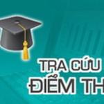 Tra cứu điểm thi tốt nghiệp THPT quốc gia năm 2015