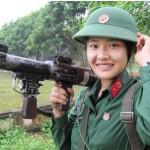 Trường quân đội nào cho nữ thi khối C?