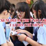 Điểm thi vào lớp 10 thành phố Hồ Chí Minh năm 2016