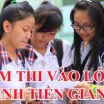 Điểm thi vào lớp 10 tỉnh Tiền Giang