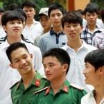 Những điểm mới tuyển sinh quân sự 2015