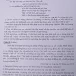 Đáp án đề thi môn Văn vào lớp 10 năm 2015 tại Hà Nội