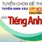 Đáp án đề thi môn Tiếng Anh vào lớp 10 năm 2015 Hồ Chí Minh