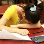 Giải tỏa căng thẳng trước kỳ thi