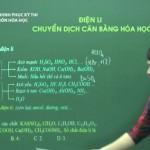 Video ôn thi THPT quốc Gia: Điện li và Chuyển dịch cân bằng hóa học
