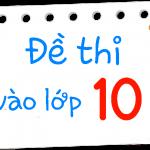 Đề thi vào lớp 10 năm 2015 tỉnh Nghệ An