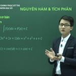 Video ôn thi THPT Quốc Gia môn Toán Nguyên hàm và tích phân