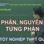 Ôn thi THPT Quốc Gia môn Toán: Tích phân, nguyên hàm từng phần