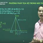 Video ôn thi Quốc Gia Hình Học Phương pháp tọa độ trong mặt phẳng phần 2