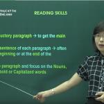 Video ôn thi Quốc gia môn Tiếng Anh: Các dạng câu hỏi đọc hiểu và cách làm – Reading skills