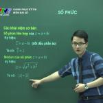 Video ôn thi THPT Quốc môn Toán về Số Phức