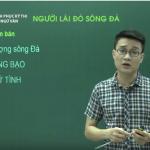 Video ôn thi Quốc Gia môn Văn Tìm hiểu tác phẩm Người Lái Đò Sông Đà