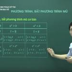 Ôn thi THPT Quốc gia môn Đại số: Phương trình Bất phương trình mũ