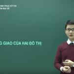 Ôn thi THPT Quốc gia môn Đại số: Sự tương giao giữa hai đồ thị