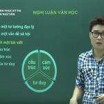 Video ôn thi THPT Quốc Gia Môn Văn Nghị luận văn học