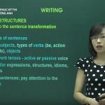 Ôn thi THPT quốc gia môn Tiếng Anh cách viết bài luận Tiếng Anh