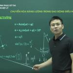 Ôn thi THPT Quốc Gia Môn Vật Lý: Chuyển hóa năng trong dao động điều hòa