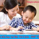 Gia sư cho học sinh tiểu học tại Quận Bắc Từ Liêm – Hà Nội