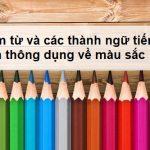 Thành ngữ tiếng Anh liên quan đến màu sắc