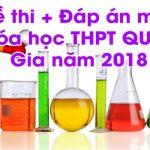 Đề thi THPT Quốc Gia môn Hóa Học năm 2017