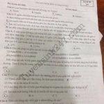 Đề thi thử THPT Quốc gia 2018 Sinh  tại chuyên Lam Sơn có đáp án
