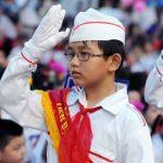 Em hãy tả quang cảnh buổi lễ chào cờ vào thứ hai đầu tuần ở trường em