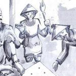 Phân tích cảnh cho chữ trong truyện ngắn chữ người tử tù của Nguyễn Tuân