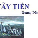 Bài văn phân tích khổ thơ cuối bài thơ Tây Tiến của Quang Dũng