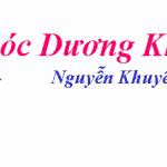 Bình giảng bài thơ Khóc Dương Khuê của Nguyễn Khuyến