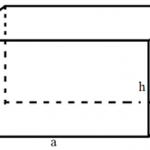 Hình hộp chữ nhật và công thức tính diện tích xung quanh, diện tích toàn phần và thể tích hình hộp chữ nhật- Toán học lớp 5