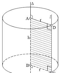 Cách tính công thức tính diện tích đáy, diện tích xung quanh, diện tích toàn phần và thể tích hình trụ tròn