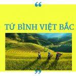 Phân tích bộ tranh tứ bình trong bài thơ Việt Bắc.