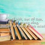 Học để biết, học để làm, học để chung sống, học để khẳng định mình – Nghị luận xã hội – Văn mẫu