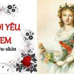 Phân tích bài thơ Tôi yêu em của Puskin.