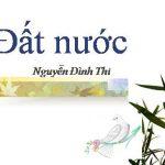 Bình giảng bốn câu thơ trong Đất nước của Nguyễn Đình Thi: