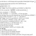 Cách tìm bội chung nhỏ nhất (BCNN) và ước chung lớn nhất (ƯCLN)