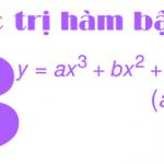 Các dạng bài tập tìm cực trị của hàm số bậc 3 thường gặp