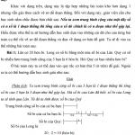 Cách giải bài toán liên quan đến bản chất của số trung bình cộng trong 1 dãy
