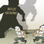 Bài văn nghị luận về vấn đề bạo lực học đường