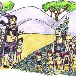 Tự sự Âu Cơ kể lại chuyện về nguồn gốc con rồng chấu tiên lớp 6