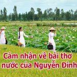 """Lòng yêu nước và cảm nhận về """"đất nước"""" của Nguyễn Khoa Điềm trong đoạn trích """"đất nước"""""""