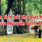 """Phân tích bài thơ """"Đất nước"""" của Nguyễn Đình Thi"""